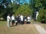 2009. június: Kerepesi úti temető valamint Solymár József köszöntése
